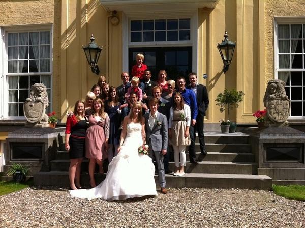 Het allereerste Foundation 4 Life #huwelijk is een feit! Annemarijn en Gerlof, van harte en Gods zegen!