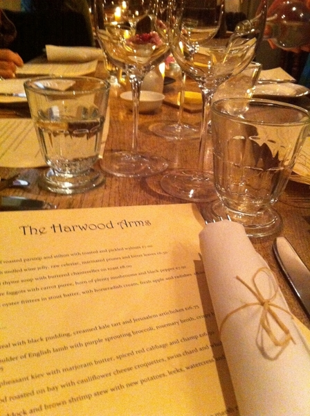 All US gastropubs need to check out Harwood Arms n London.Just had every-course gr8 meal.Gr8 wine list,beers,bread