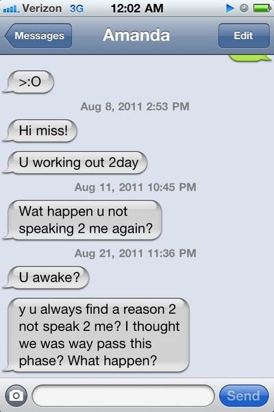 My ex girlfriend .......