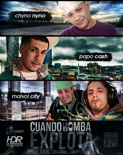 #ViceddMusic | Chyno Nyno, Papo Cash & Mavol City - Cuando la bomba explota |
