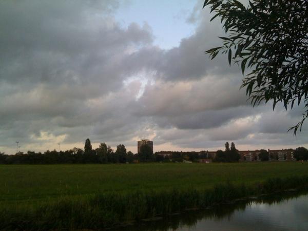Haarlem in de verte