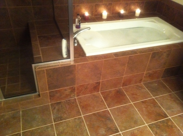 Bubble bath for one :( lol