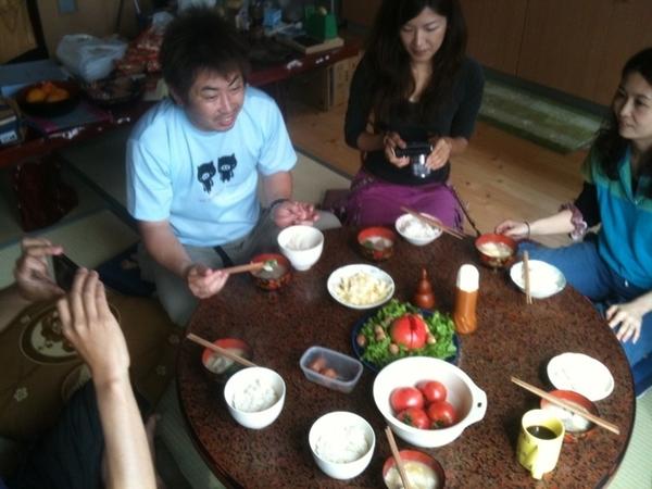 素敵な阿智村の食材いっぱいの朝ごはん!