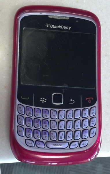 Goodbye old friend. #blackberry