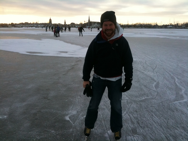 On the ice again! #gouwzee