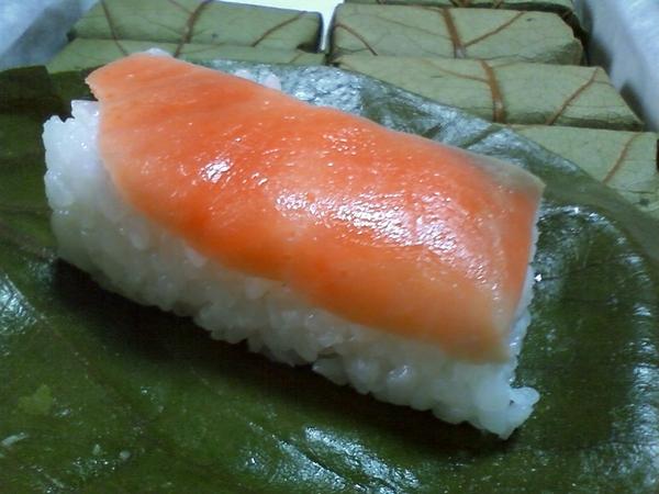 奈良名物柿の葉寿司