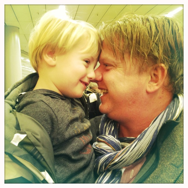 Fletcher of the Day: Papa is home