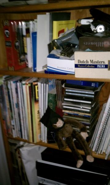 @kylecassidy  partial bookcase photo
