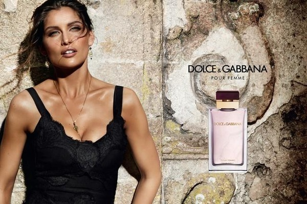 Laetitia Casta in Dolce Gabbana's 'Pour Femme' new ad campaign
