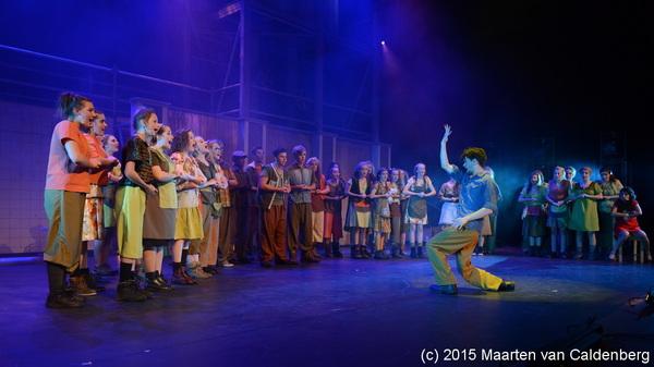 In @PERRON3 #rosmalen was vanavond de #première van #urinetown door #2stage