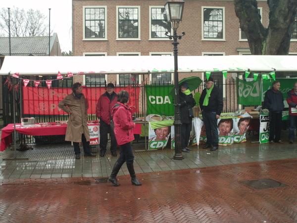 Water genoeg vandaag maar helaas te koud voor de lekkere #PvdA thee
