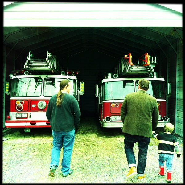 3 Lens's and 2 fire trucks