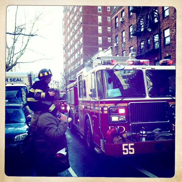 Fletcher of the day: Fire truck