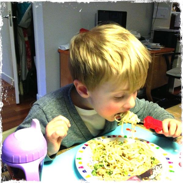 Fletcher of the day: pasta
