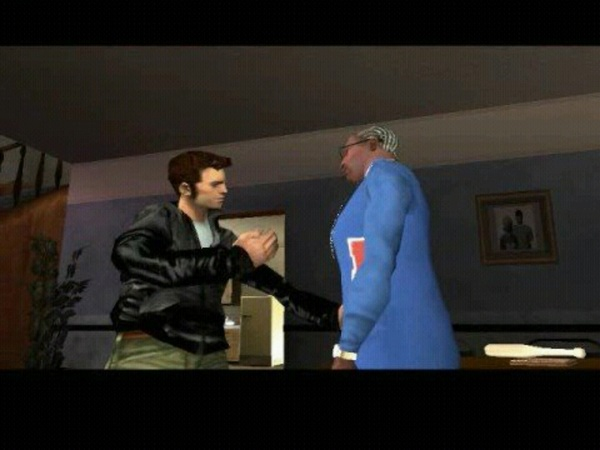 "Um @BootyClapClap? How is the #GTA3 character gonna ""Talk"" to CJ? (@RockstarGames) #GTA #SanAndreas #Awesome #Mashup"