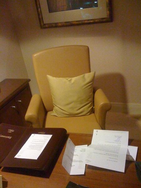De stoel van JR.