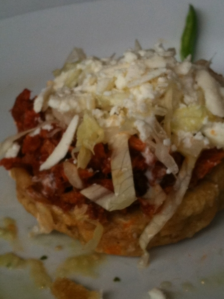 Contramar: 6 aps & 3 entrees later: gr8 sope of red chile fish w crema &queso fresco stands out
