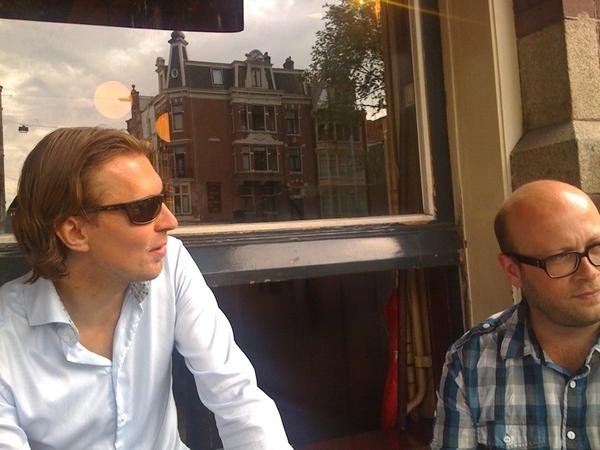 De CEO en CMO van de nieuwe onderneming.