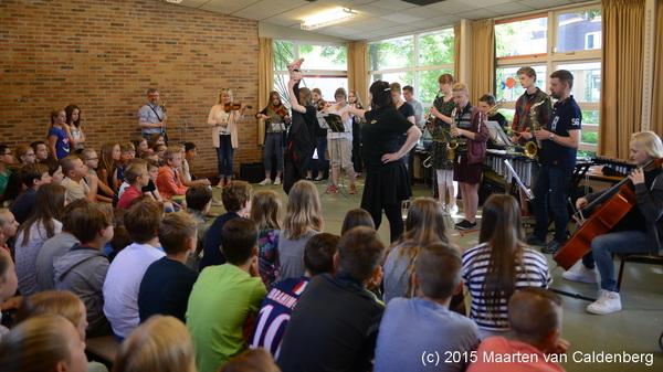 Vandaag verzorgden de leerlingen van Kulturskolan Smedjan uit #Tidaholm een optreden op @bstven #rosmalen