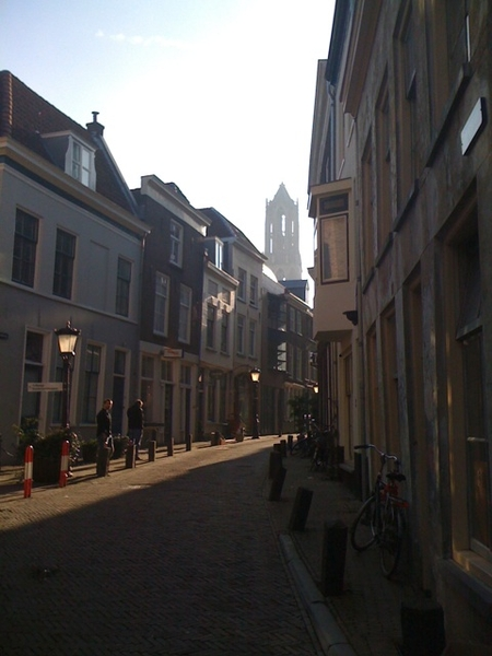 Partly working in Utrecht these weeks, brings back good memories being a lawstudent here