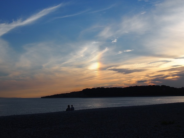 Knap sunset #barry #barrybados #wales