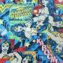 Wonder Woman Fleece Fabric