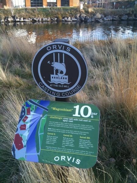 @OrvisFlyFishing Orvis - Casting Course @oldmilldistrict - Wagon Blast 10, par 6. #flyfishing