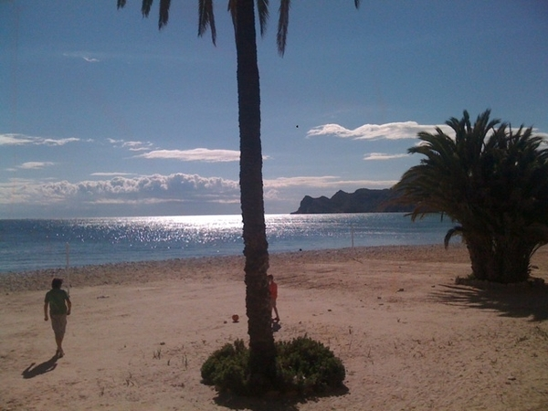Another beautiful day at the Costa Blanca