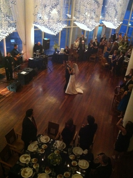 Meredith & Ross - the first dance #DC #Wedding #Irene