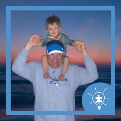 Light It Up Blue for World Autism Awareness Day! #LIUB #autismspeaksga #autism #sportstechie