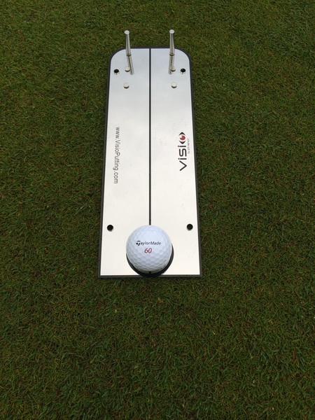 Bit of work this morning on the Visio putting board!