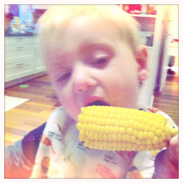 Fletcher of the day: corn on the cob