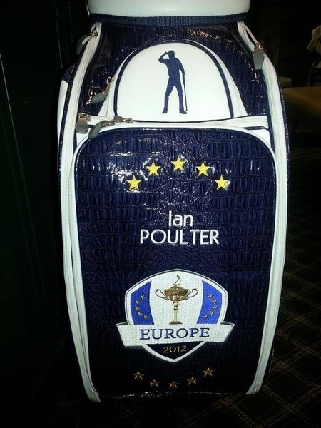 Loving the team bags can't wait to put it into use tomorrow.....nice work by @level4golf