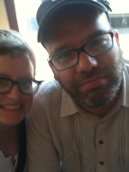 Me and grumpy go for sushi.