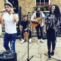 Absolutely brill busking in London for @shelter in support of the homeless.