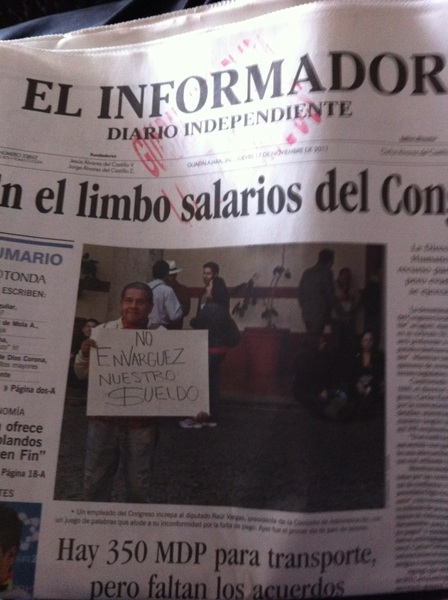 Mexican news paper!