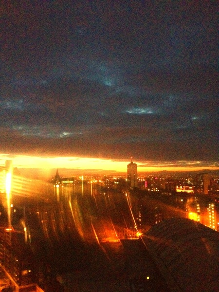 Another wicked sunrise...Manchester