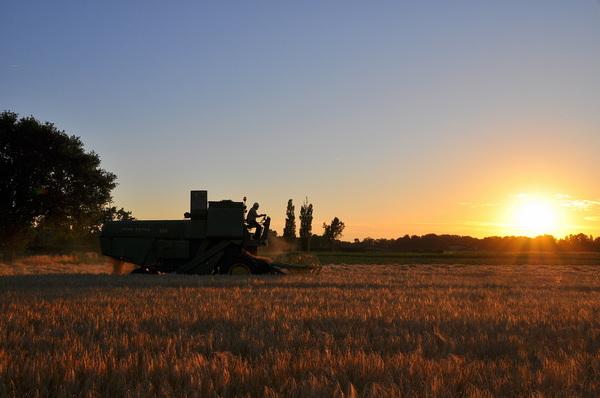 fraaie zonsonder op vrijdag in zuidoost Brabant #buienradar