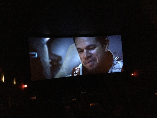 @mattdamon_ I saw Martian 2day it's one of the most amazing  complicated difficult performances I've ever seen wow ©