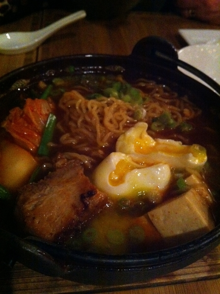 Amari Chicago: this place has great noodle dishes: kimchi ramen w pork belly&egg&tofu