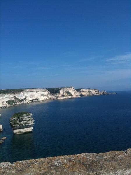 Wat een uitzicht! Bonifacio!