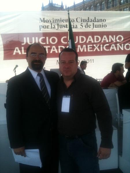 Gracias por su entrega y su amor a México Maestro @EmilioAlvarezI