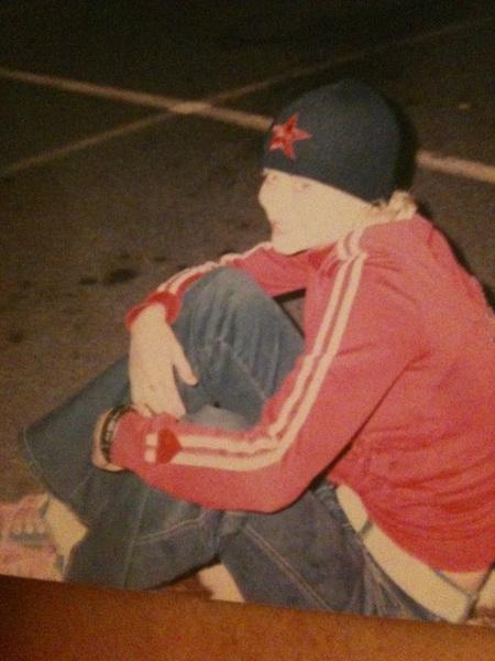 @quiggys btw skateboard pic circa 2002