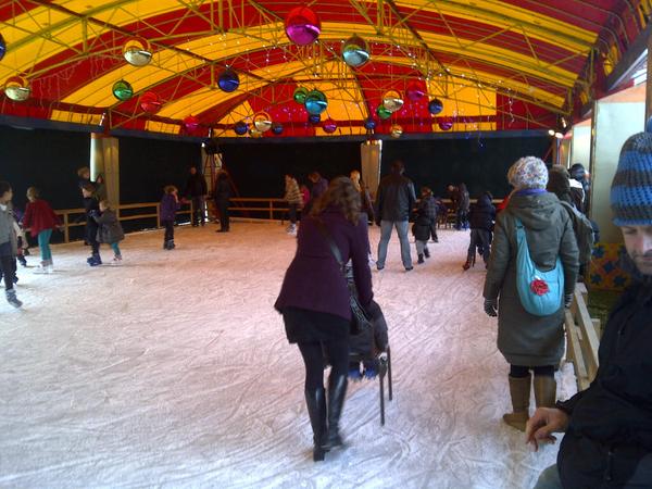 Schaatsen bij westerpark is weer top attractie... Can't wait