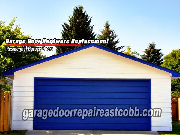 Garage Door Hardware Replacement