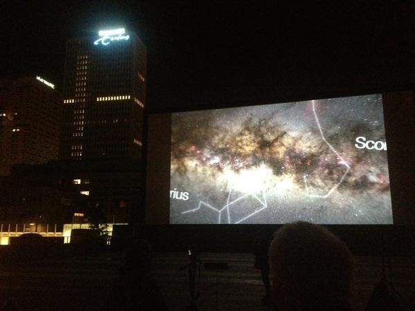 Stargazing met @govertschilling in het Museumpark #wvwdw