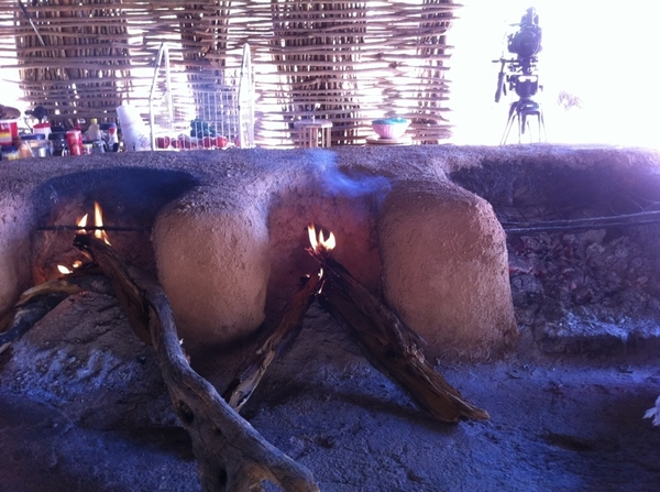 San Vicente: Baja desert mts, 300yo community of ranchers,potters. Rustic,earthy cookng w Doña Ramona on mud stove