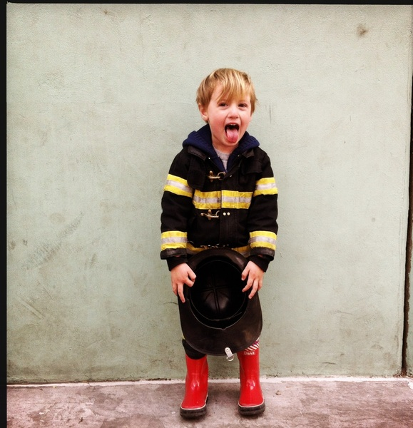 Fletcher of the day: silly fireman