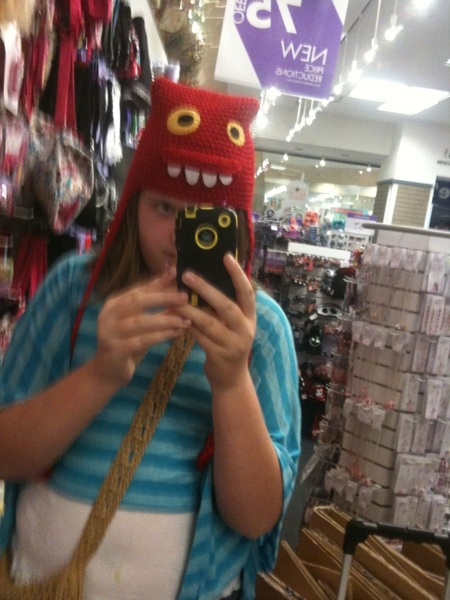 Check out my awesome hat