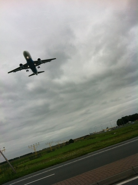 How I enjoy driving past Schiphol everyday